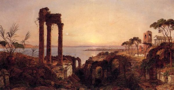 Photo of The Bay of Naples painting