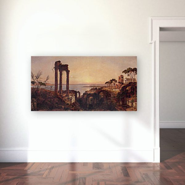 Photo of The Bay of Naples Painting in gallery