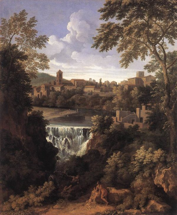 Photo of The Falls of Tivoli painting