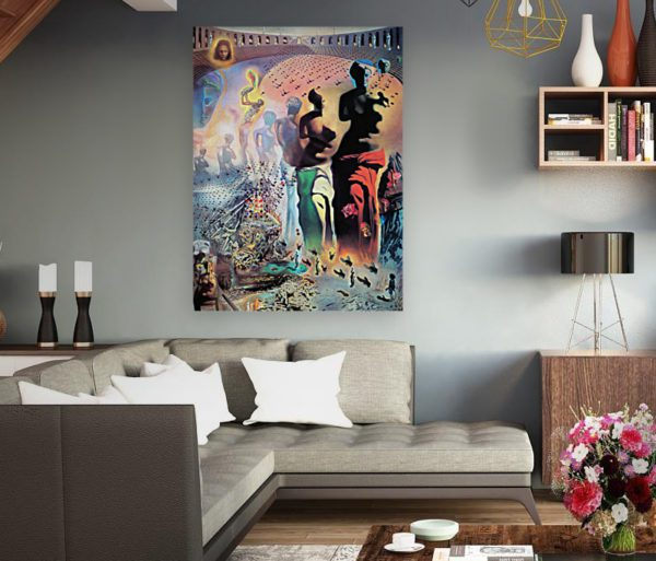 Photo of The Hallucinogenic Toreador painting in elegant living room