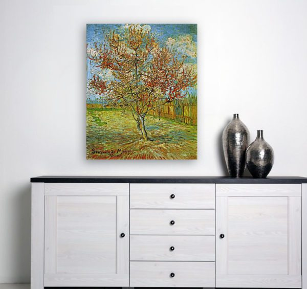 Photo of The Pink Peach Tree near modern table