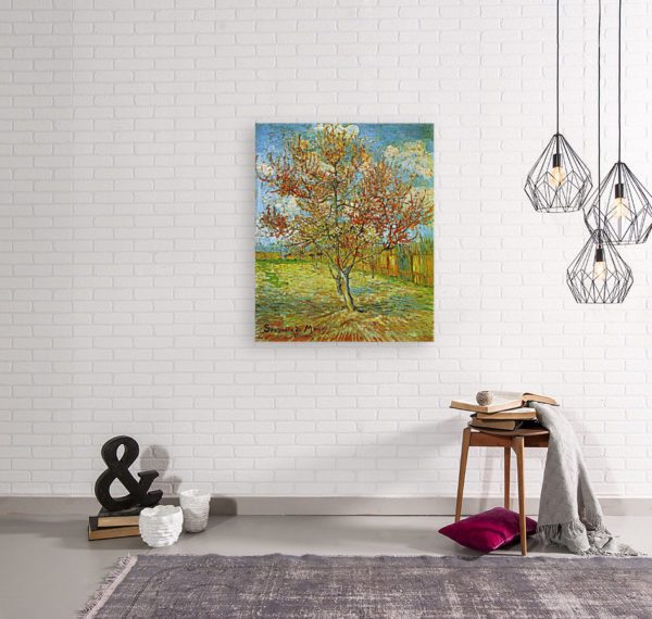 Photo of The Pink Peach Tree in living room