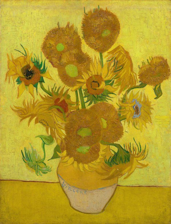 Photo of Sunflowers painting