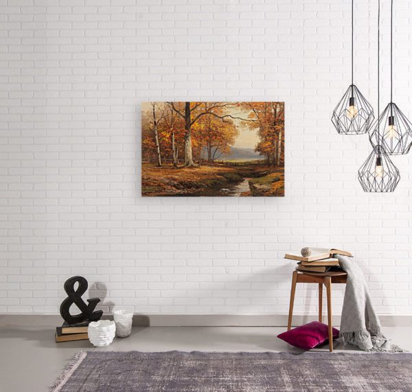 Robert Wood Painting Photo Canvas Print