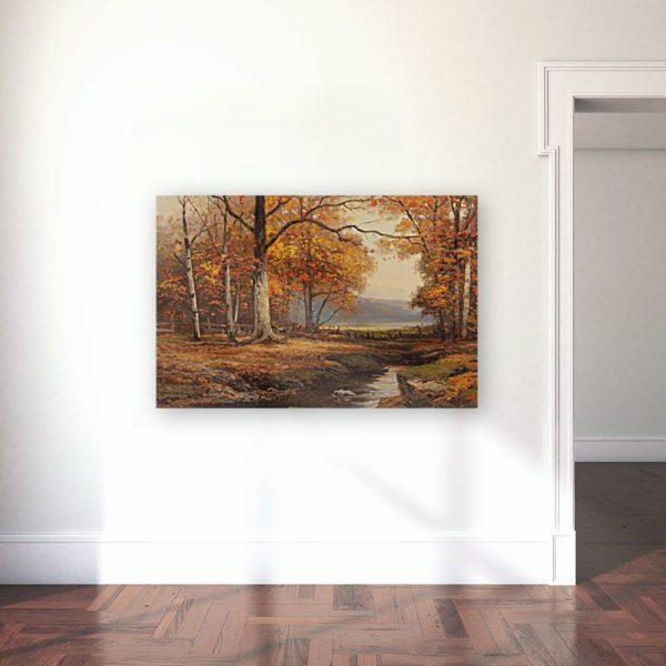 Robert Wood Painting Photo Print