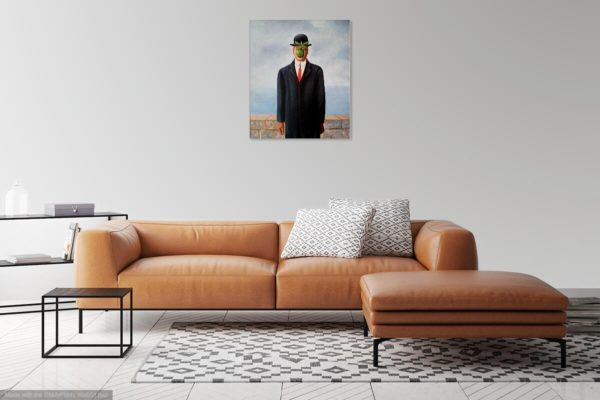 Photo of Son of man Rene in living room