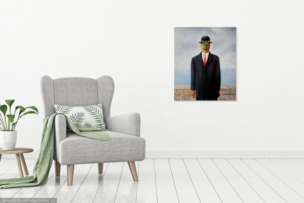 Photo of Son of Man in living room
