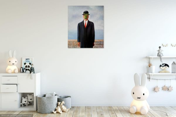 Photo of Son of Man painting in kids room