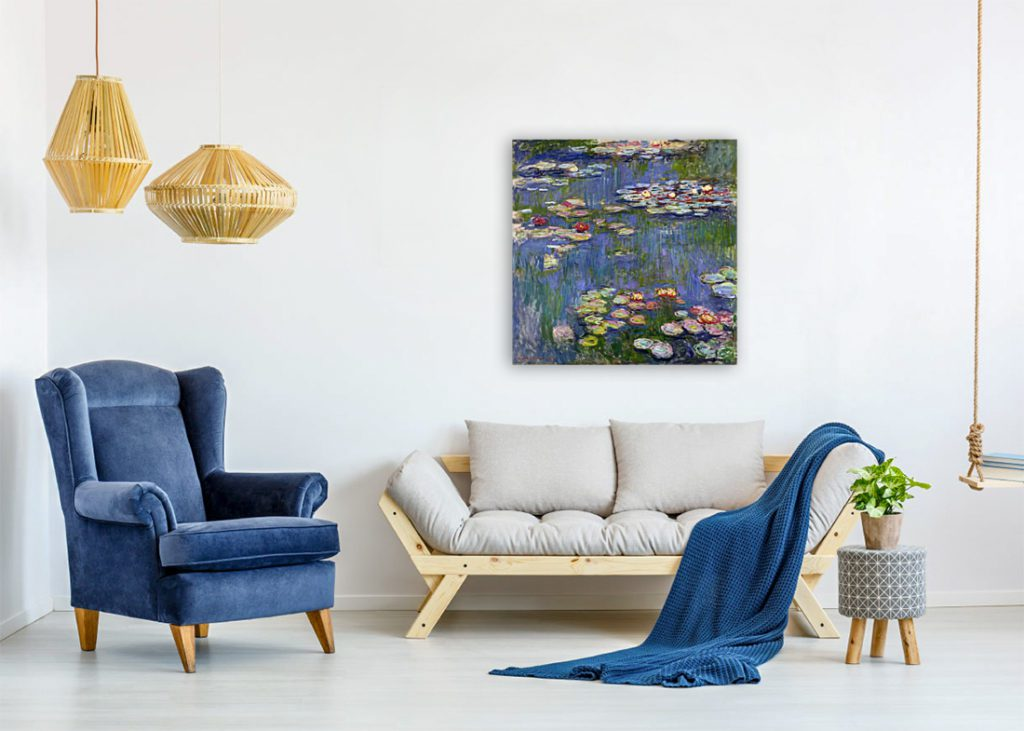 Choose wall art painting by color like a pro