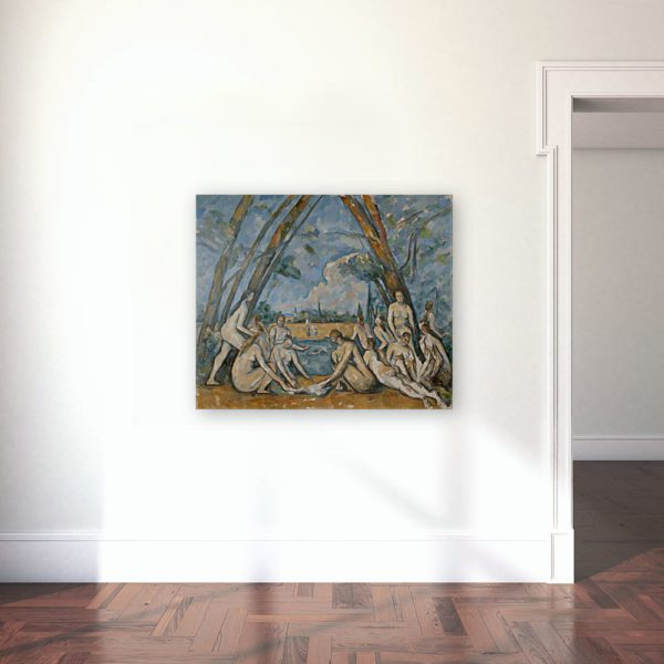Photo Of The Bathers by Paul Cézanne 6
