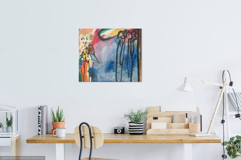 buy abstract painting wall art canvas print