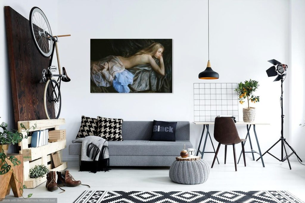 buy erotic painting online wall art canvas print photo Lavel Art