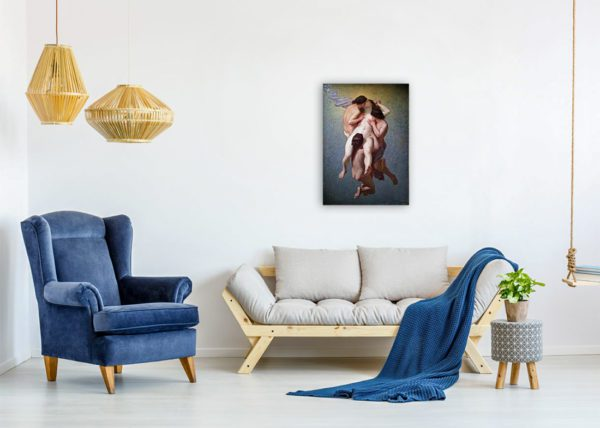 The Cursed Woman Painting Buy Canvas Print 2