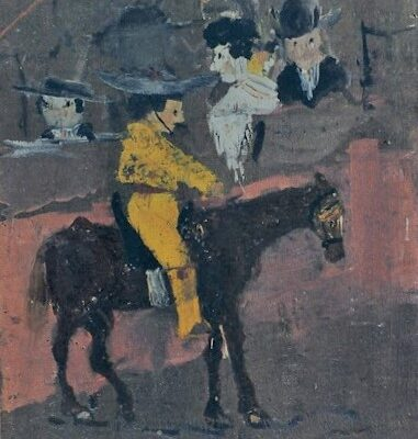 The First Painting Of Pablo Picasso