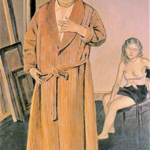 balthus painting canvas print wall art andre derain
