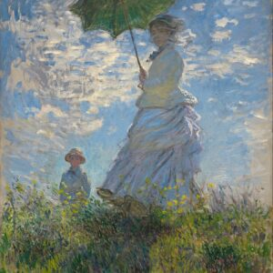 Claude Monet - Woman with a Parasol