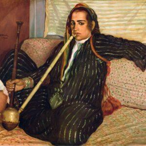 The smoking Hashish by Emile Bernard