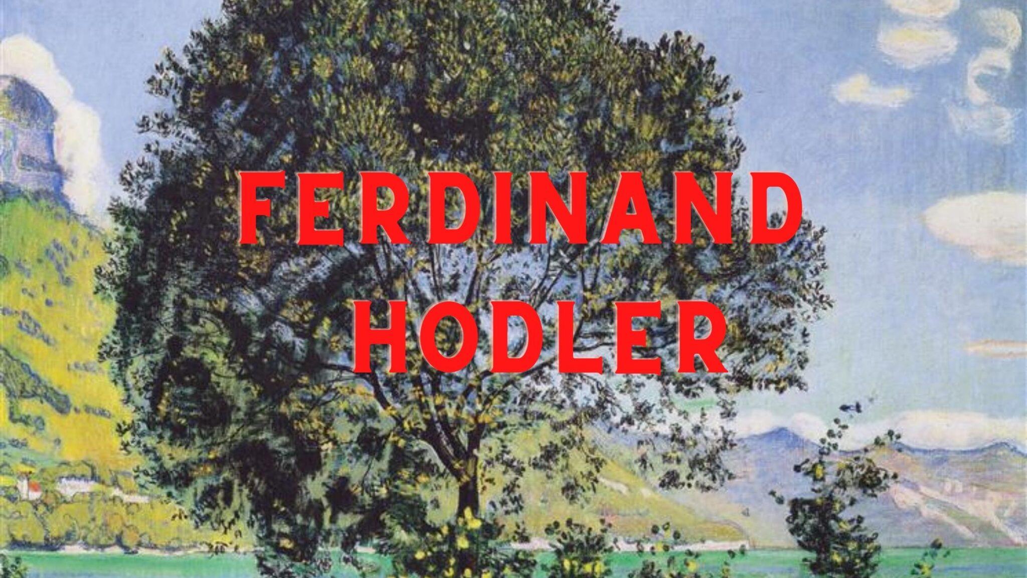 Ferdinand Hodler Paintings Compilation