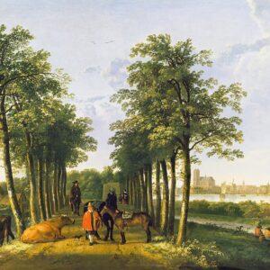 Avenue at Meerdervoort, by Aelbert Cuyp