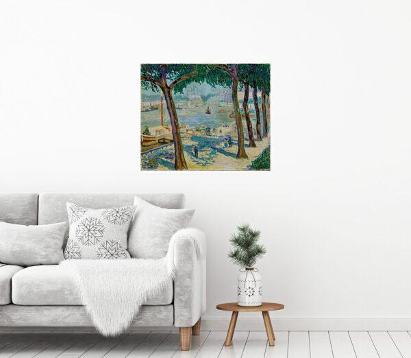 Helene Funke Painting Canvas Print