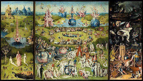 «Garden of Earthly Pleasures,» Hieronymus Bosch