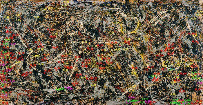 «Alchemy,» Jackson Pollock