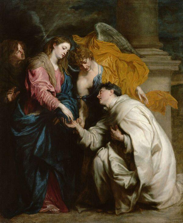 Anton van Dyck - The Vision of the Blessed Hermann Joseph