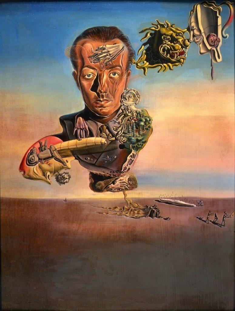 «Portrait of Paul Eluard», Salvador Dalí