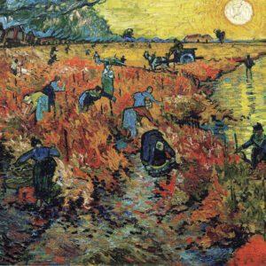 """The Red Vineyard near Arles"" by Vincent van Gogh"