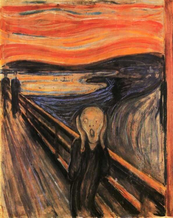 «Scream,» Edward Munk