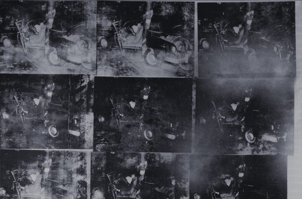 «Silver Car Accident,» Andy Warhol