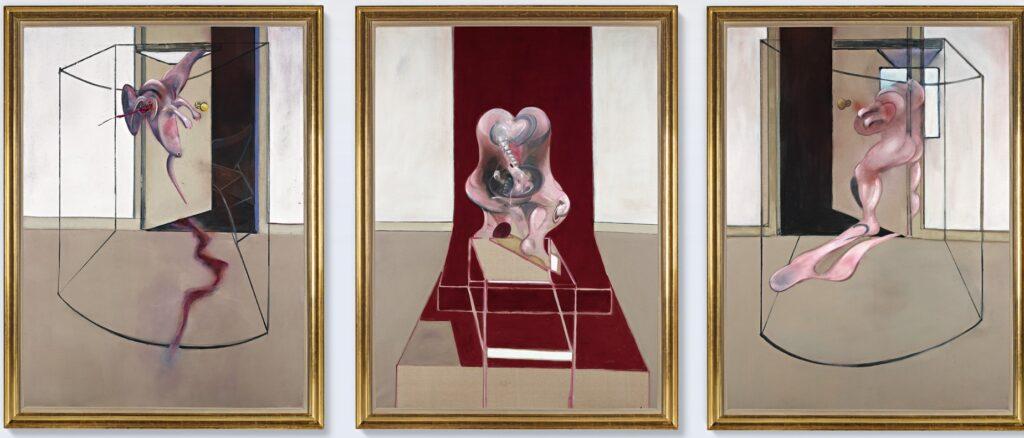 «Triptych», Francis Bacon