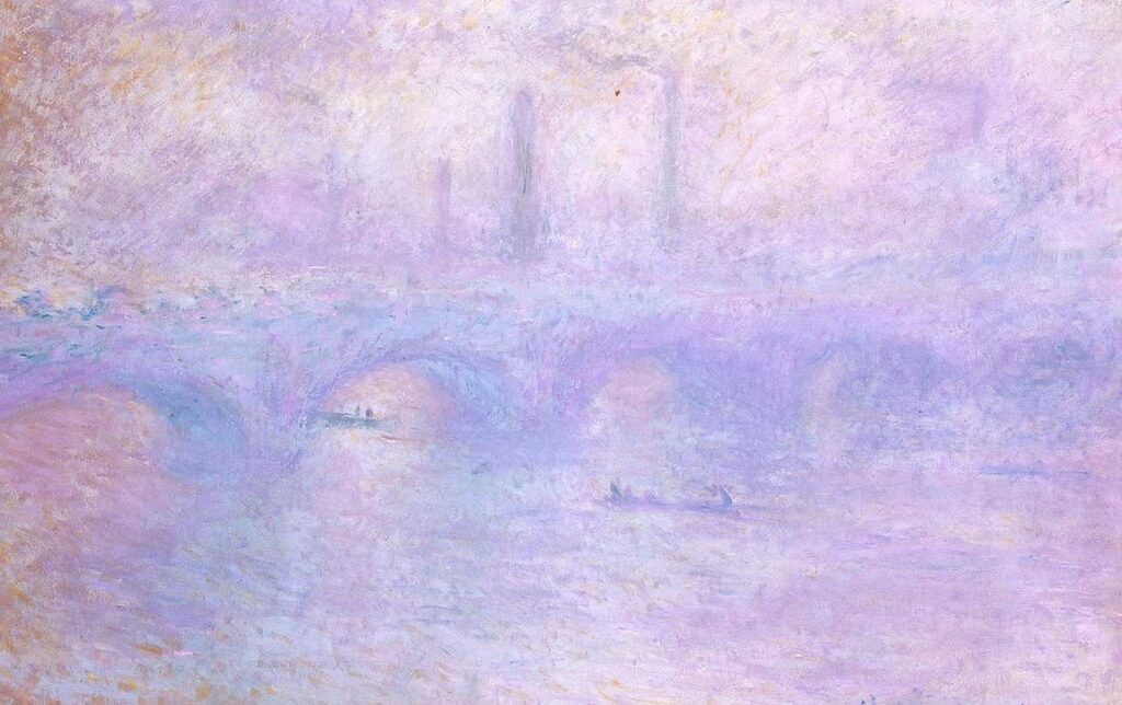 «Waterloo Bridge. Fog Effect», Claude Monet