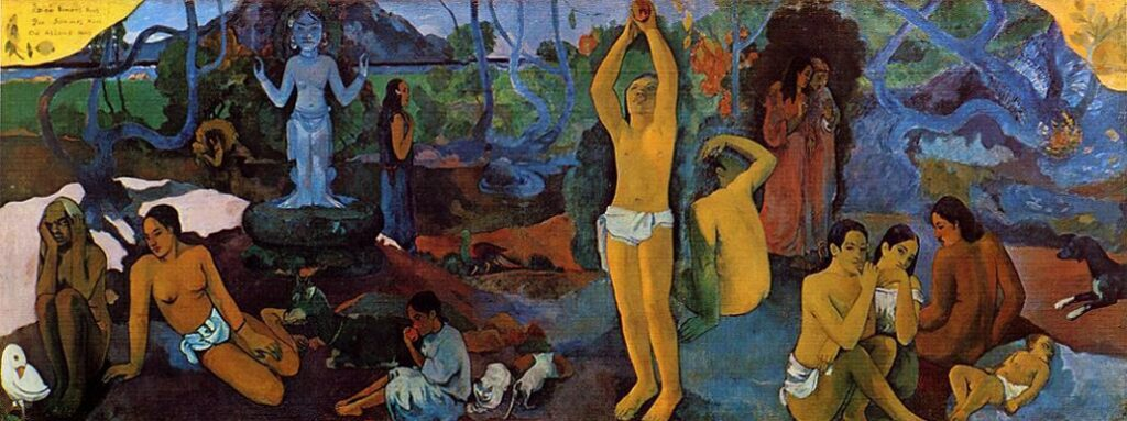 «Where have we come from? Who are we? Where are we going?» Paul Gauguin