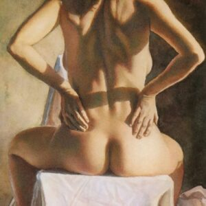 Photo of Nude Woman on table