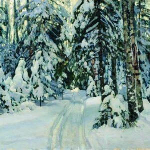 Winter Landscape by Stanislav Zukovsky