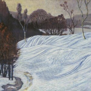 Photo of Norwegian Landscape. (Winter Landscape)