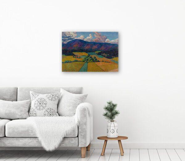 Norwegian Landscape by Konrad Mägi