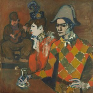 At the Lapin Agile by Pablo Picasso