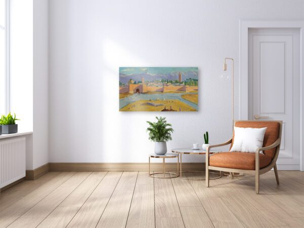 Photo of Mosque in living Room