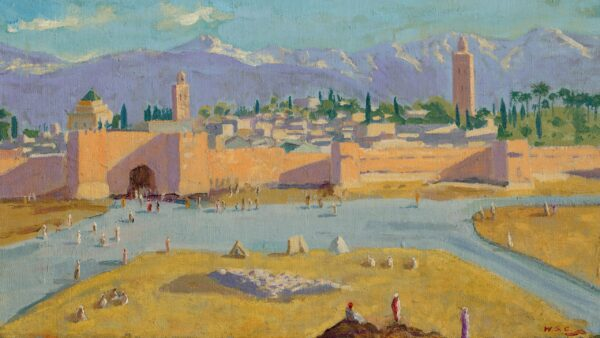 Tower of Koutoubia Mosque Photo Painting art