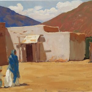 In Old Tucson by Maynard Dixon