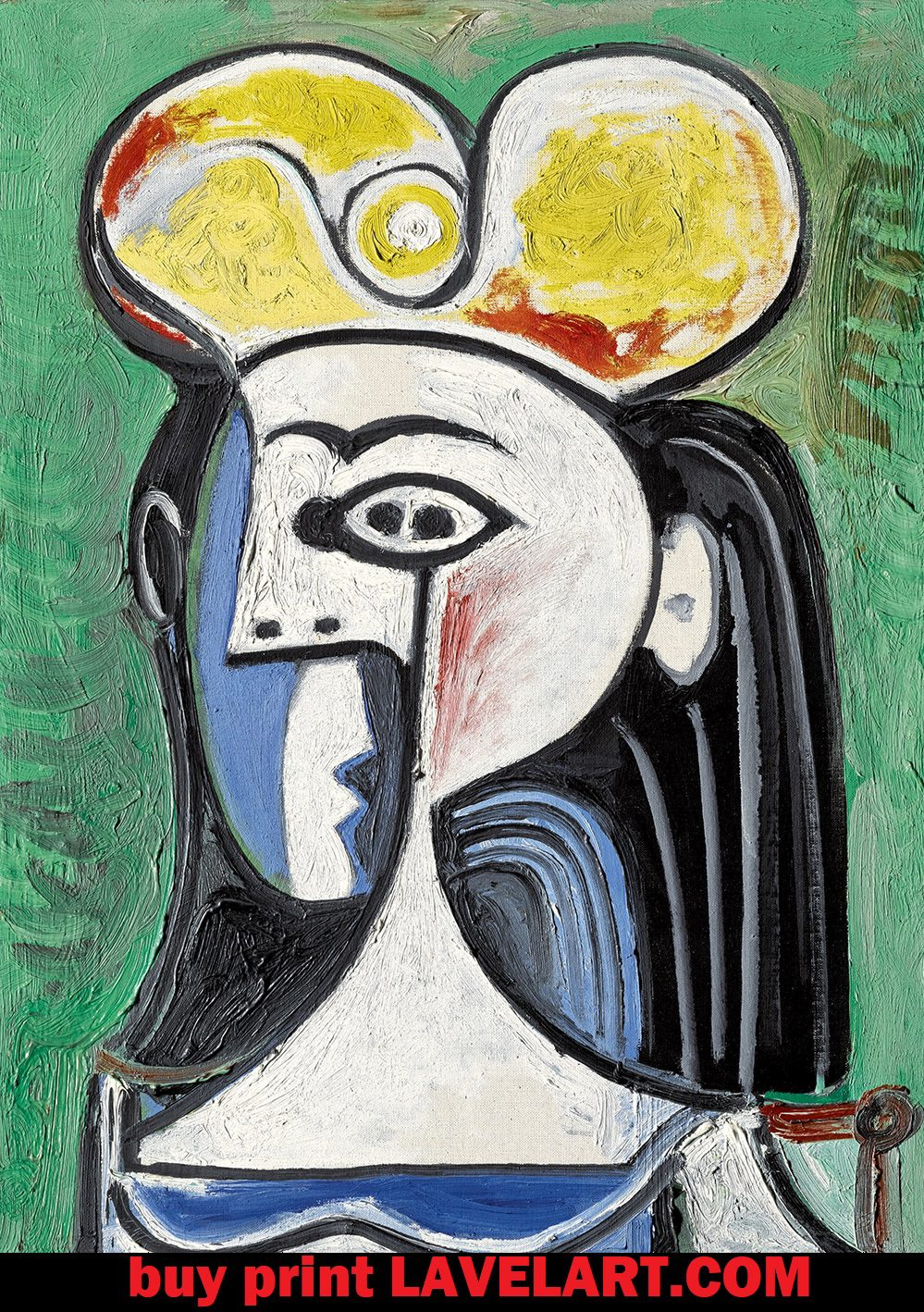 Buste de Femme Assise By Picasso