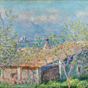 Photo of Gardeners House At Antibes Wallart Canvas print photo