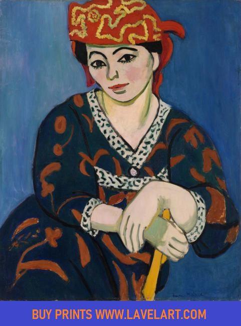 Madras Rouge Print on Canvas Henri Matisse Photo Image