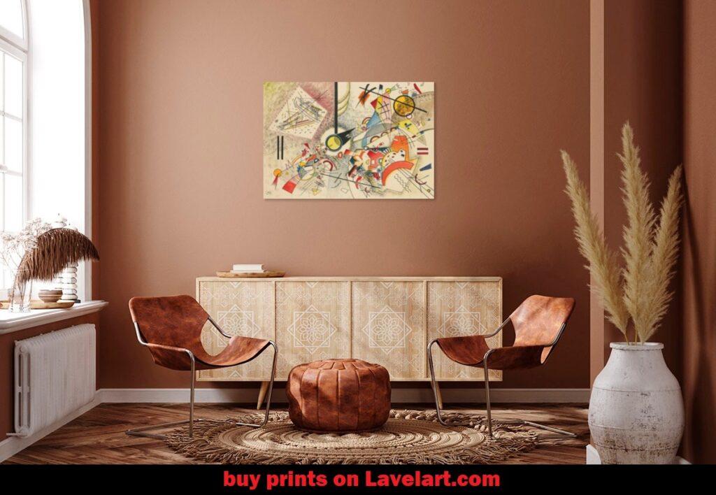 No Title Wassily Kandinsky Print Photo Art Image