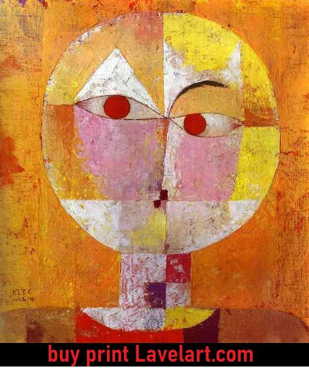 Senecio by Paul Klee photo image